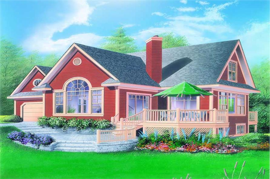 Main image for house plan # 3541