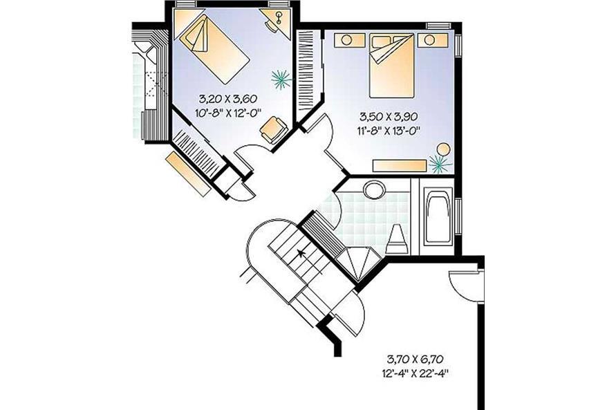 Optional Two Bedroom Plan