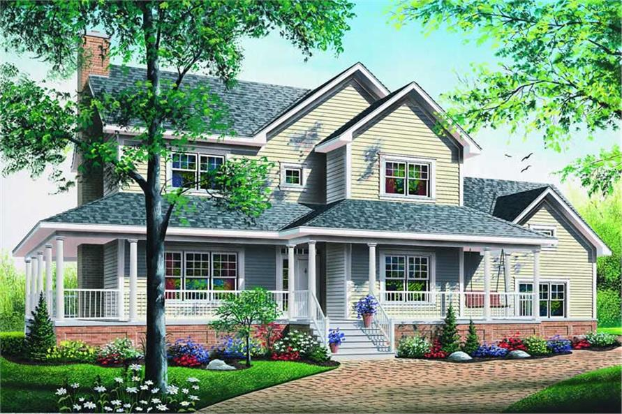 Main image for house plan # 4147