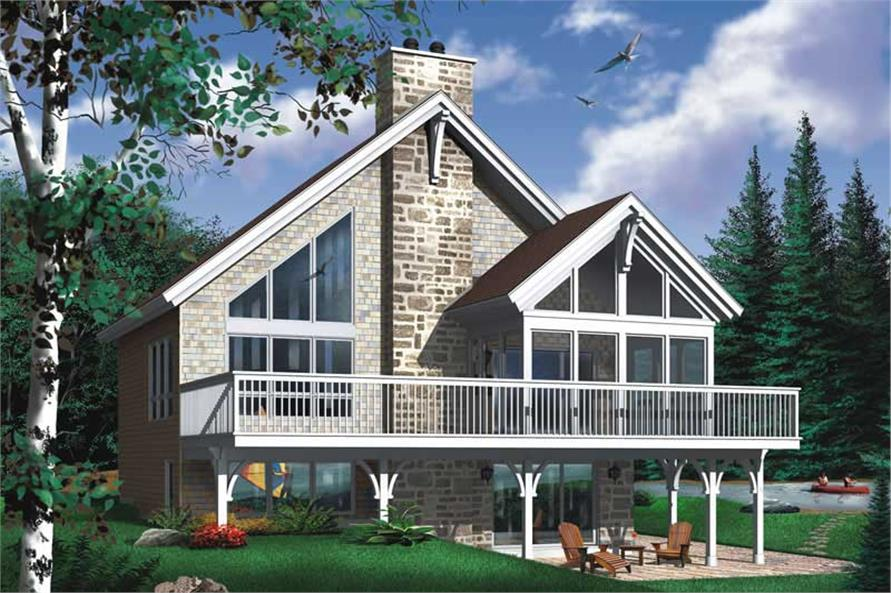 Main image for house plan # 11370