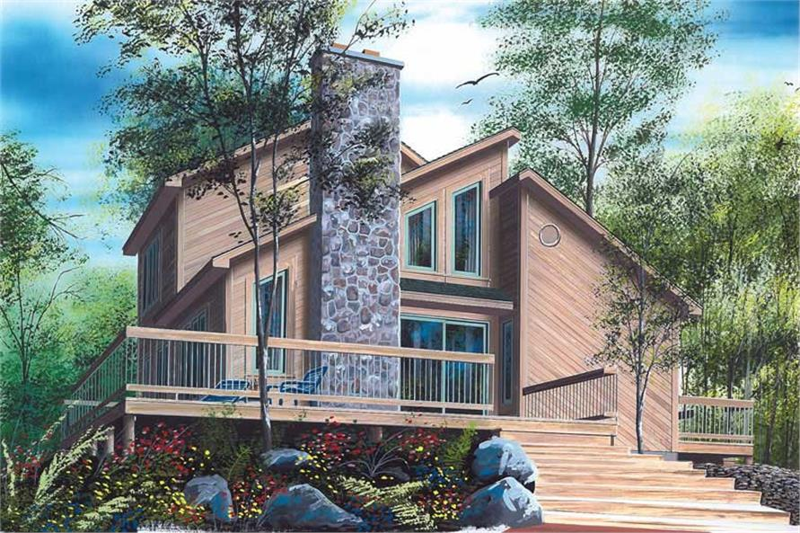 Main image for house plan # 13020