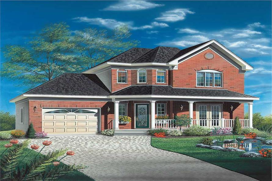 Main image for house plan # 12994