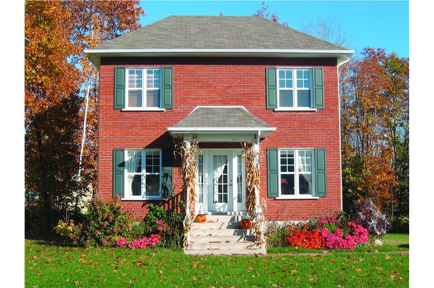 126-1341: Home Exterior Photograph-Front Door