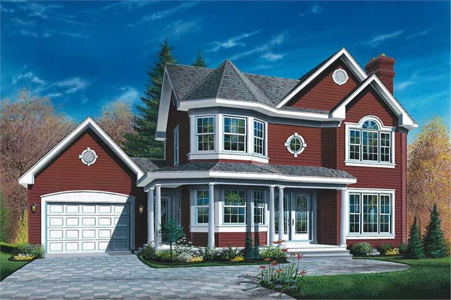 Main image for house plan # 12873