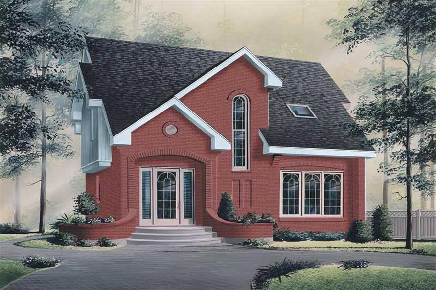 Main image for house plan # 12733