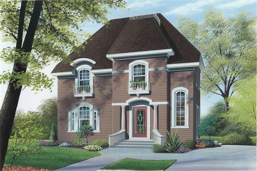 Main image for house plan # 12829