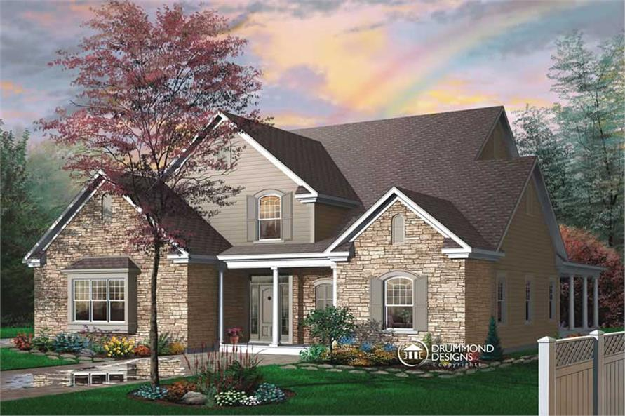 Main image for house plan # 8179
