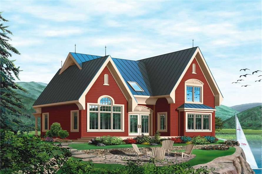 Main image for house plan # 13194