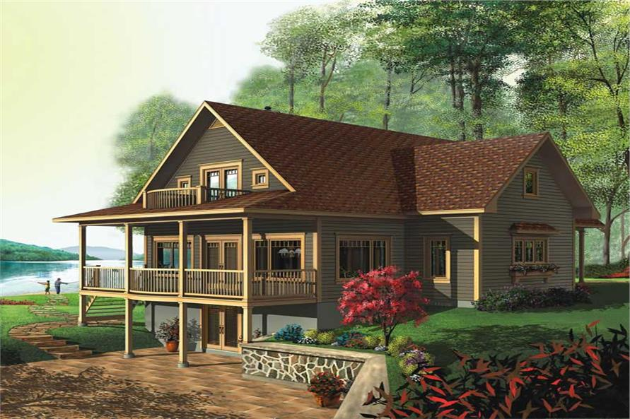 Main image for house plan # 13193