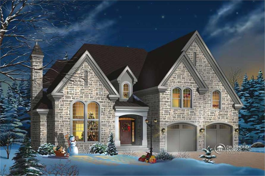 Main image for house plan # 8188