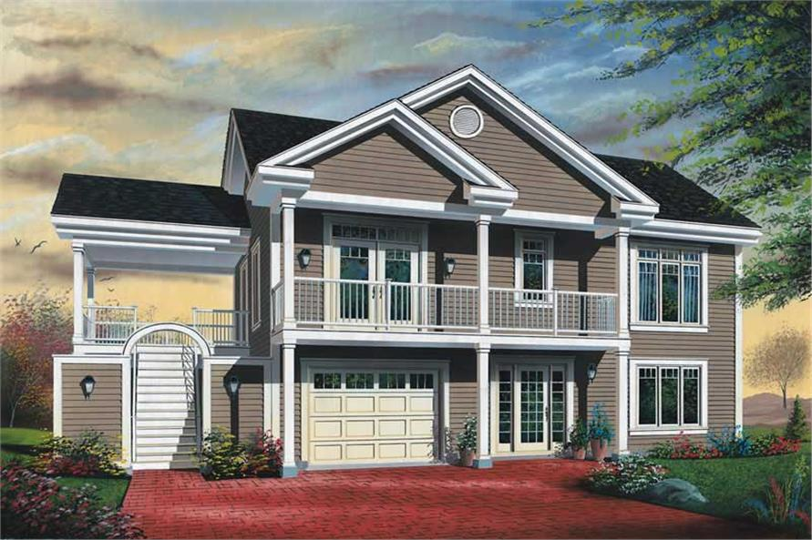 Main image for house plan # 13187