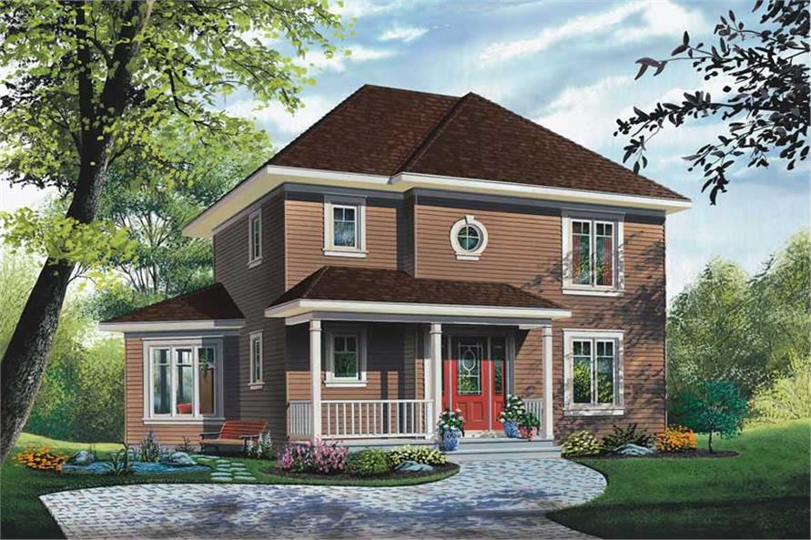 Main image for house plan # 12834