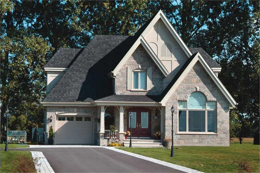 126-1385: Home Exterior Photograph-Front Exterior