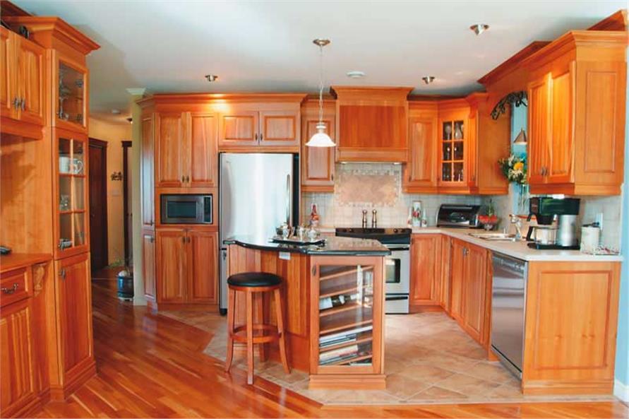 126-1385: Home Interior Photograph-Kitchen