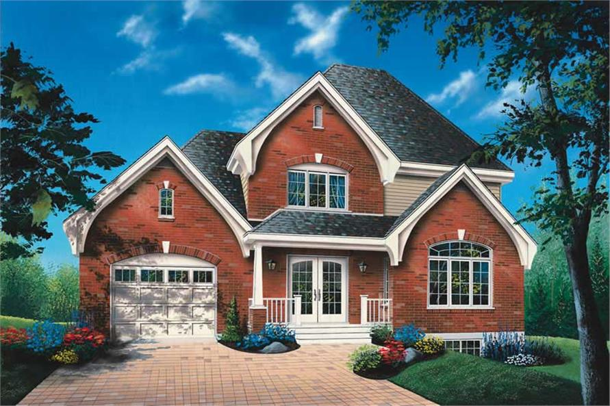 Main image for house plan # 13172
