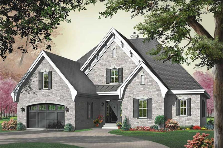 Main image for house plan # 12811