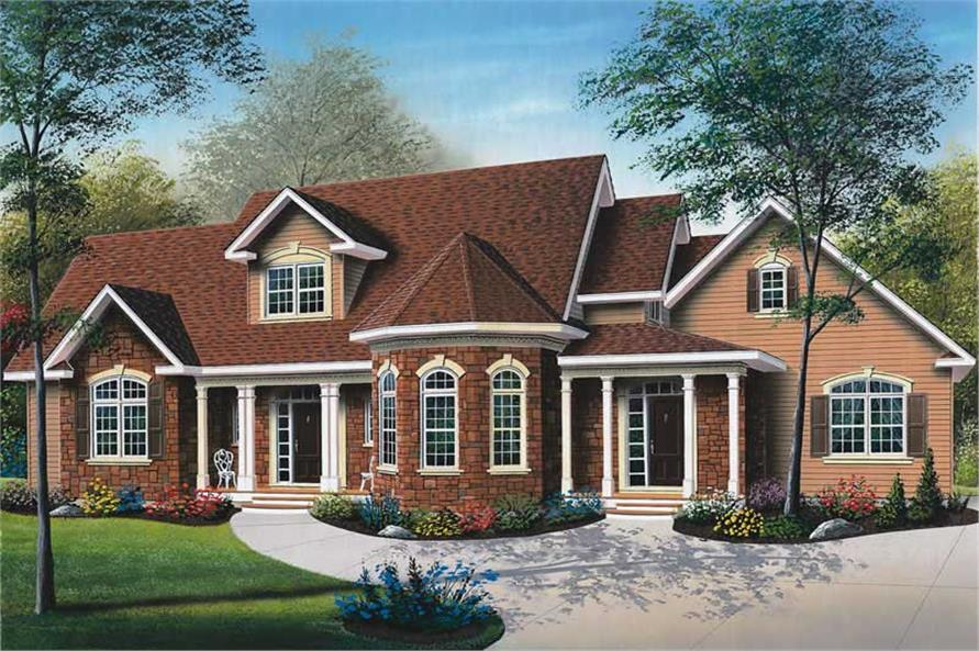Main image for house plan # 12805