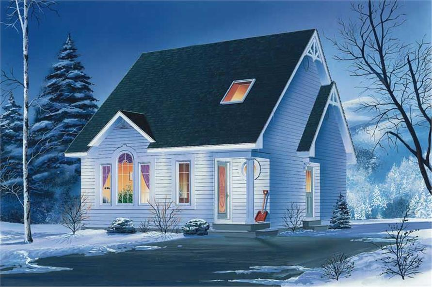 Main image for house plan # 12782