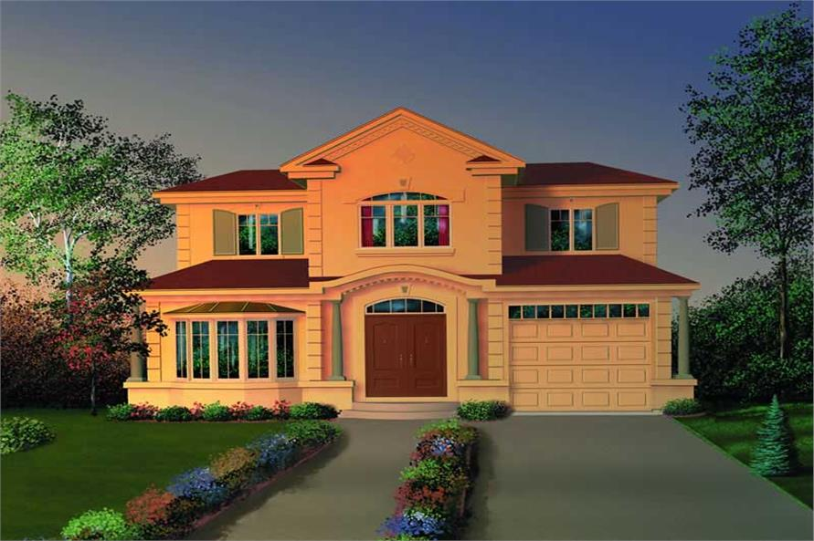 Main image for house plan # 7809