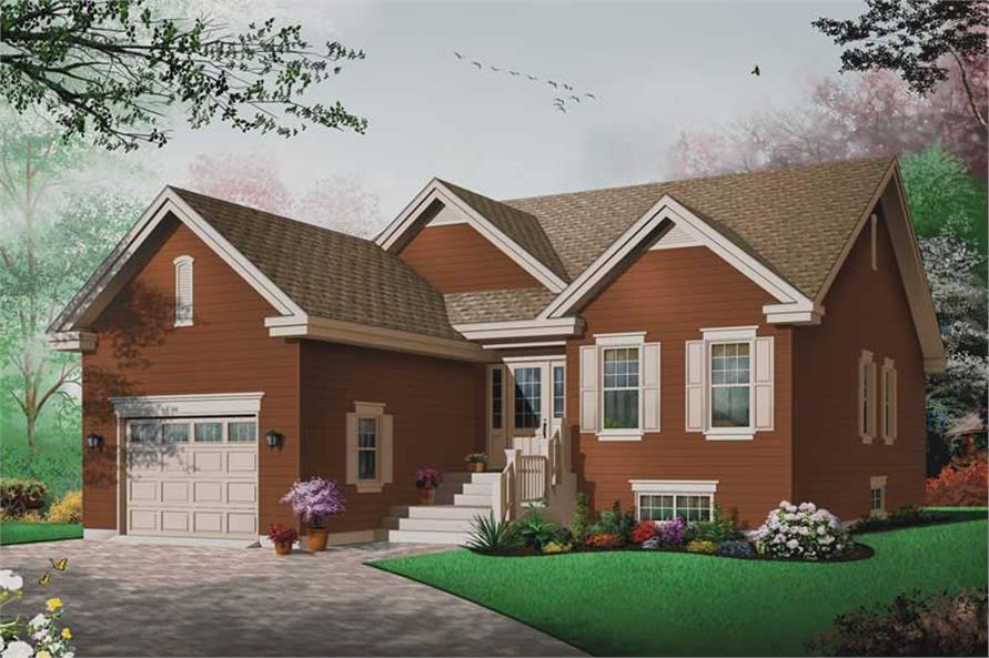 Main image for house plan # 13260