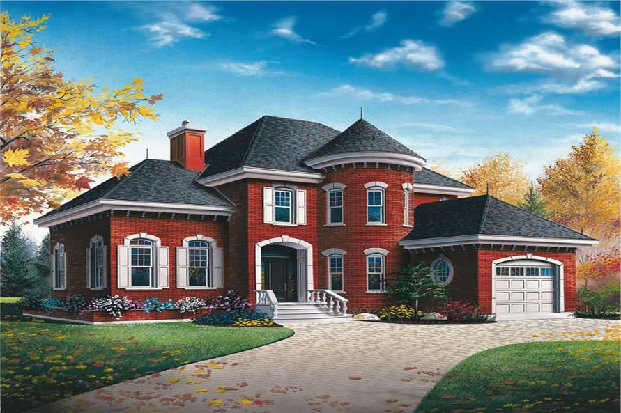 Main image for house plan # 9007