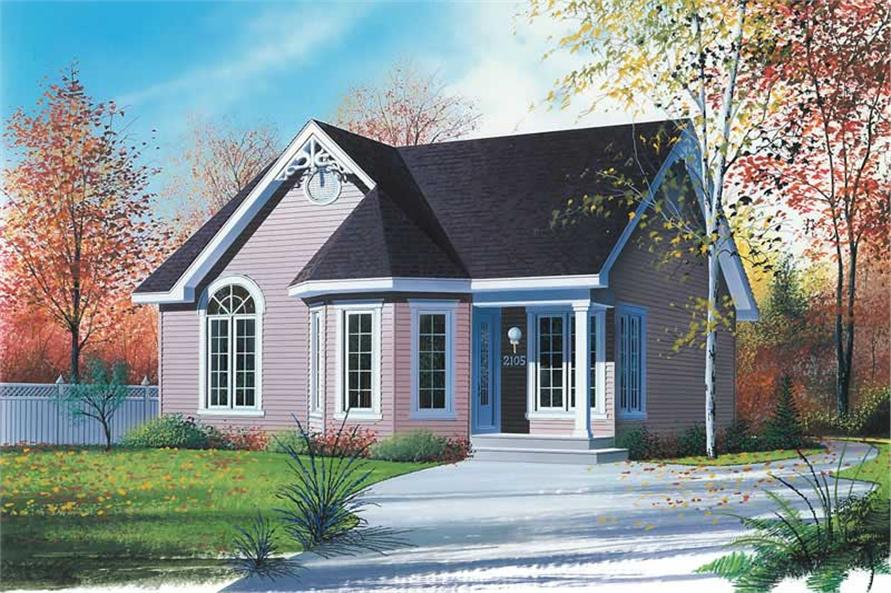 Main image for house plan # 9181