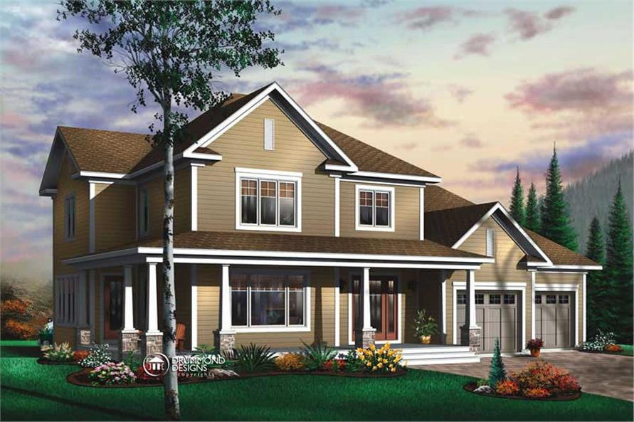 Main image for house plan # 8190