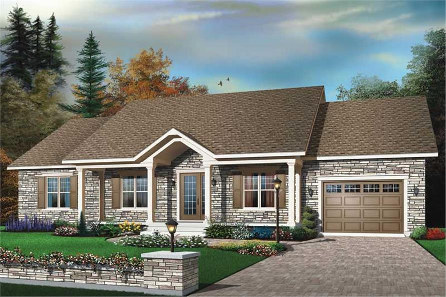 Main image for house plan # 13261