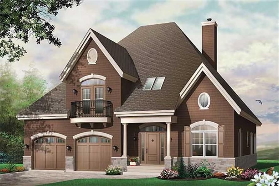 Main image for house plan # 11390