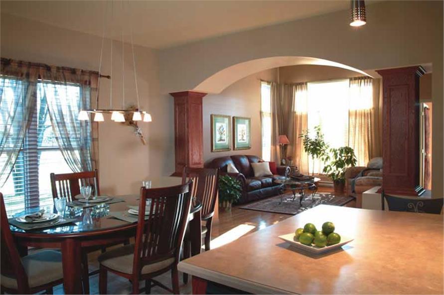 126-1421: Home Interior Photograph-Hearth Room