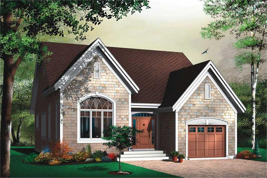 Main image for house plan # 13059