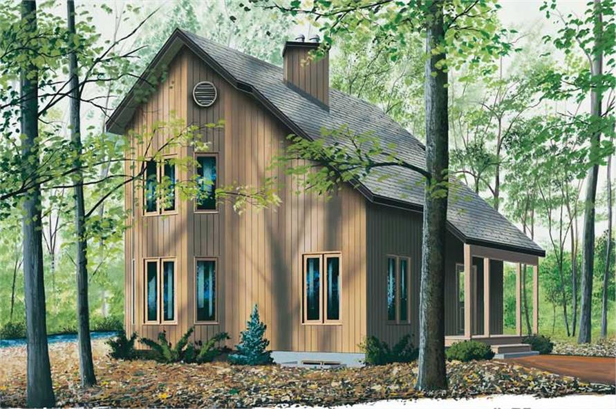 Main image for house plan # 13032