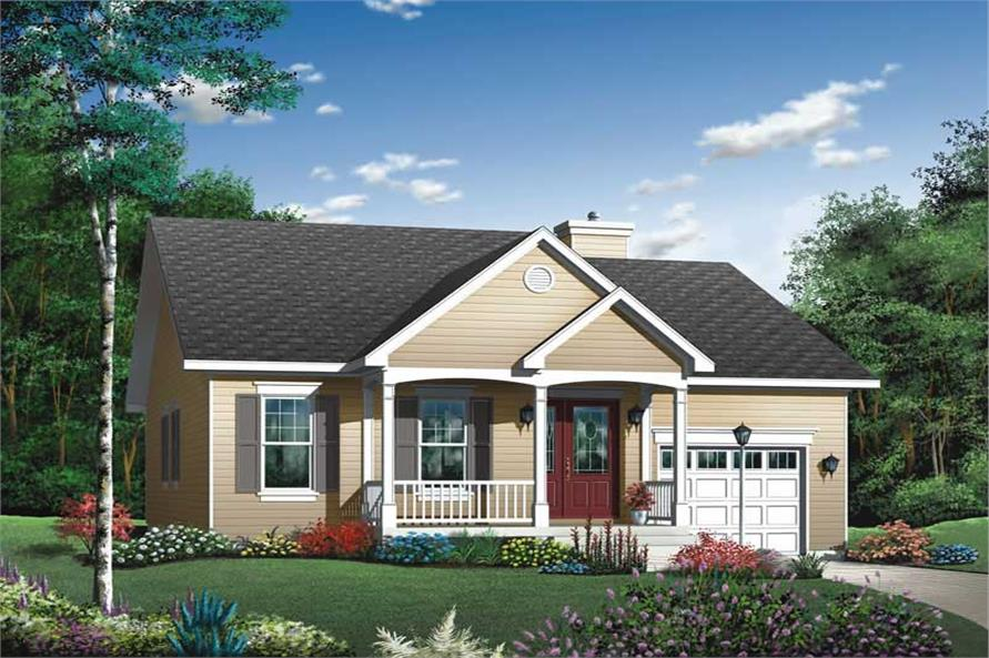 Main image for house plan # 13057