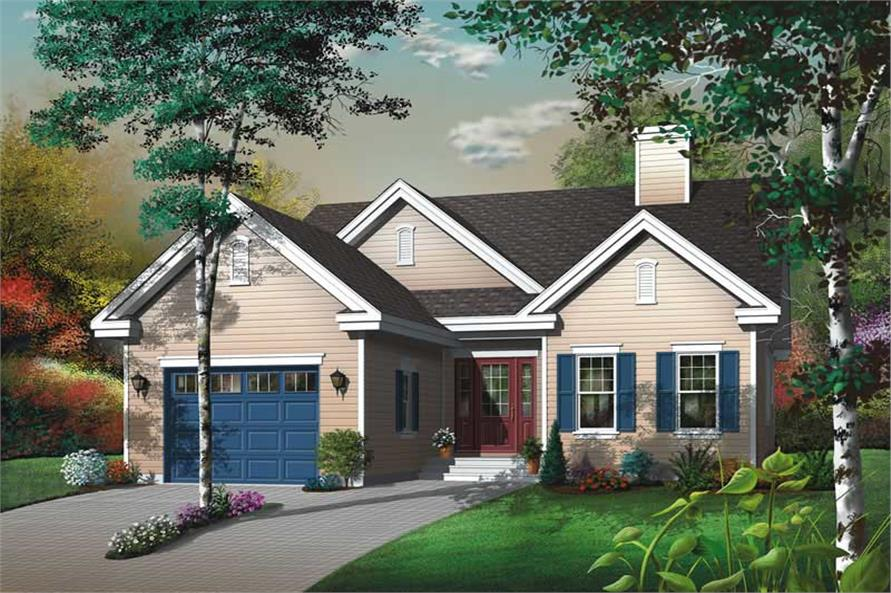 Main image for house plan # 13056