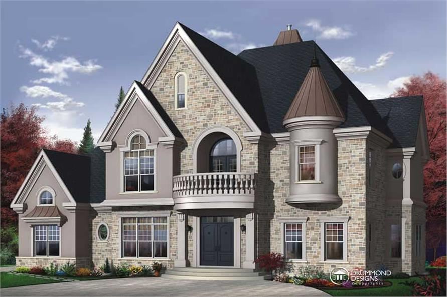 Main image for house plan # 8192
