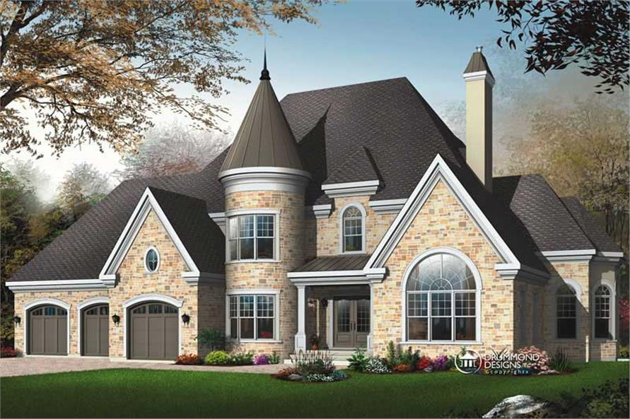 Main image for house plan # 8193