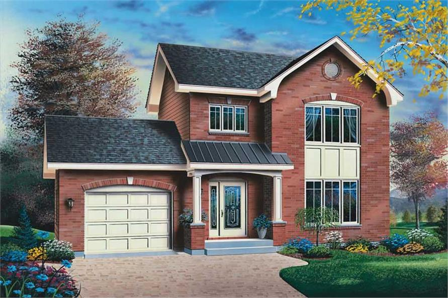 Main image for house plan # 13161