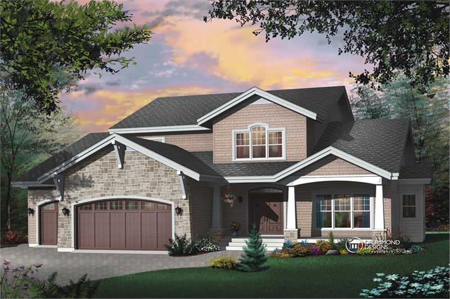 Main image for house plan # 8182
