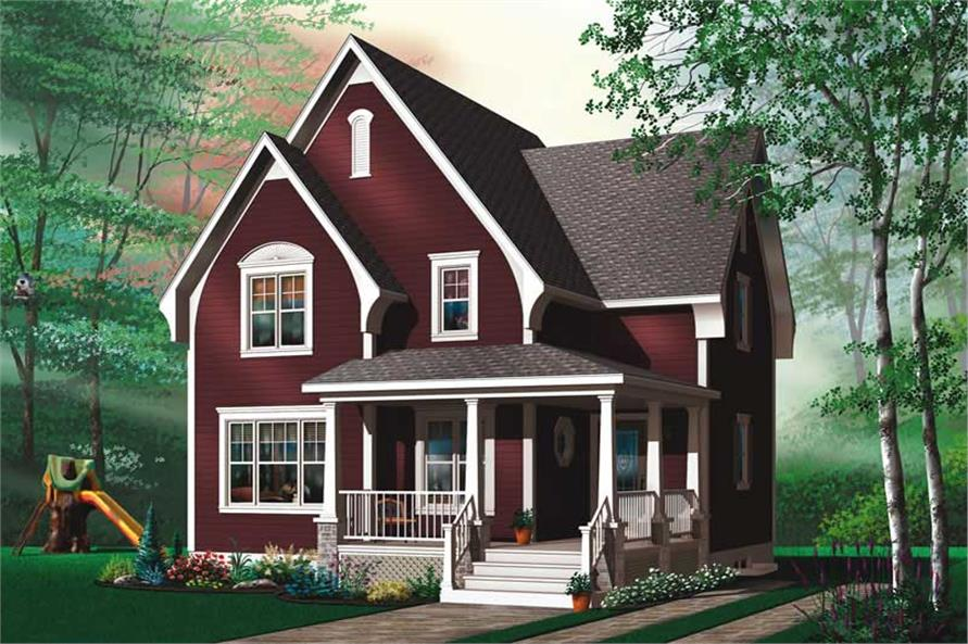 Main image for house plan # 13157
