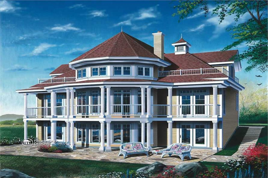 Main image for house plan # 8196