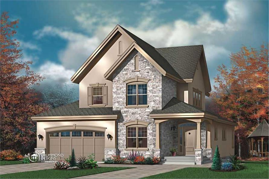 Main image for house plan # 8178