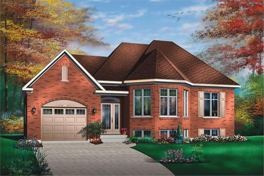 Main image for house plan # 13153
