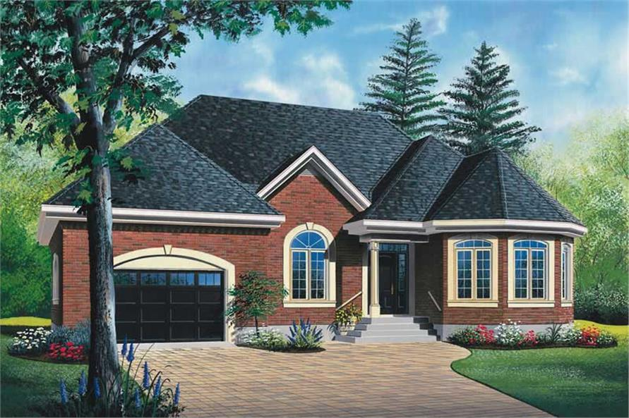 Main image for house plan # 13050