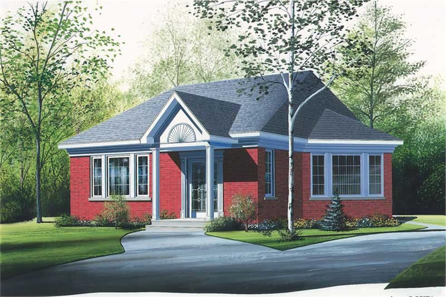Main image for house plan # 12358
