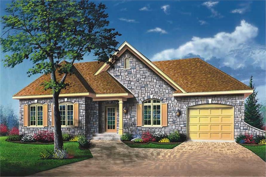 Main image for house plan # 12393