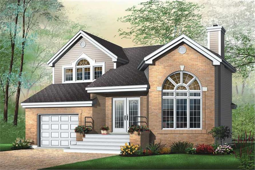 Main image for house plan # 12606