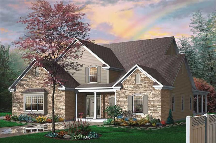 Main image for house plan # 11379