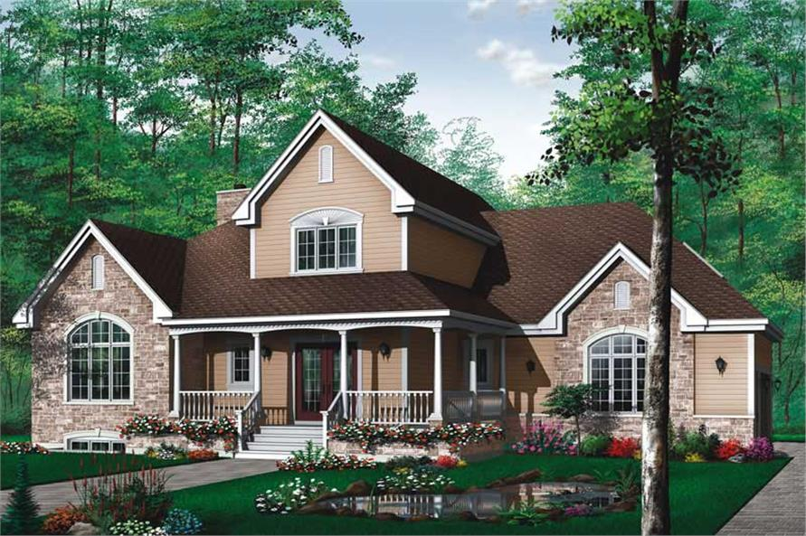 Main image for house plan # 11377