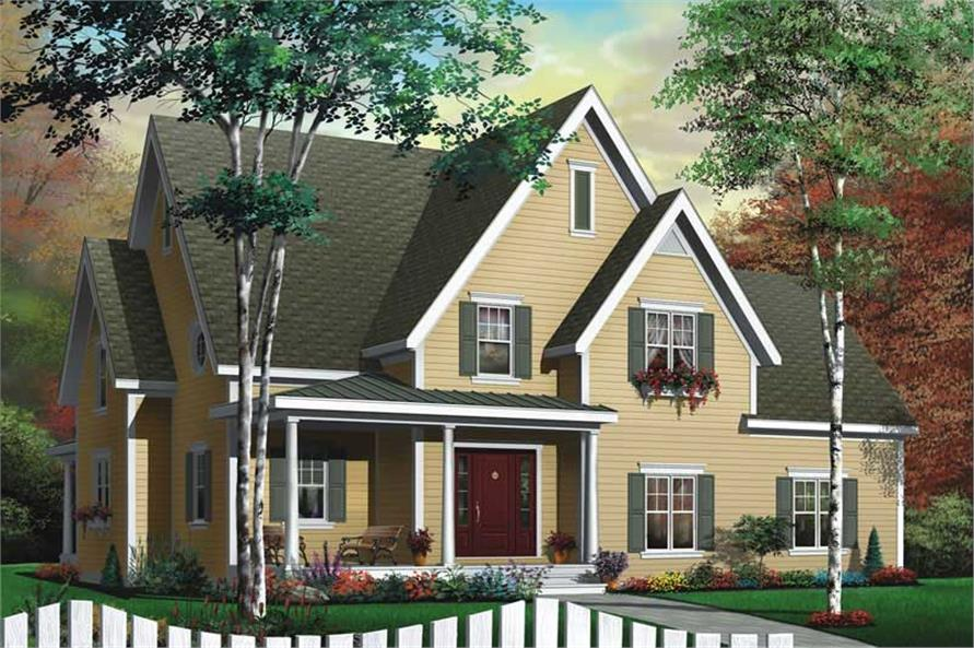 Main image for house plan # 11376
