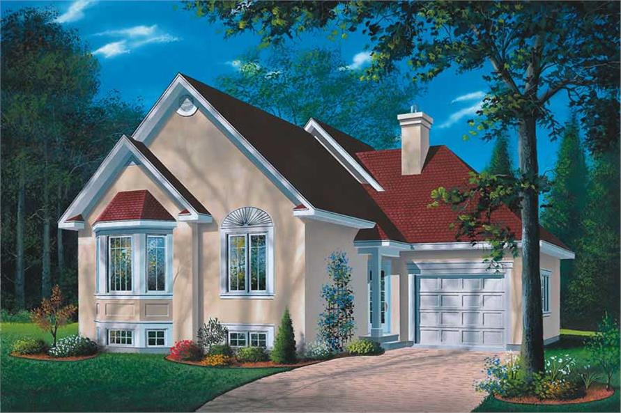 Main image for house plan # 12609